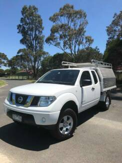 2012 Nissan Navara D40 4x4 RX Cab Chassis King Cab 4dr Auto