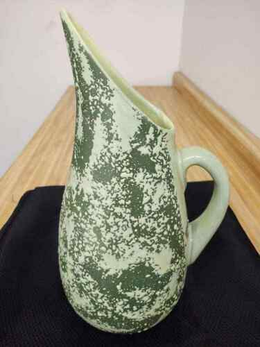 Vintage Horton Ceramics, Texas; large textured (watermelon) pitcher.