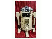R2 D2 Steel log burner