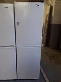 NEARLY NEW SWAN SR70140W, 55 CM TALL, A + RATED FRIDGE FREEZER IN WHITE RRP £229 (MAX USE 14 DAY`S)