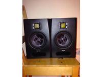 Pair of Adam F5 monitor speakers