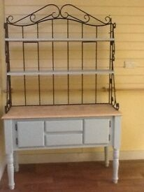 Ornate Welsh style dresser