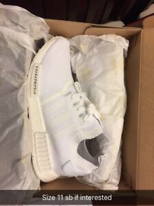 Adidas prime knit nmd japan white