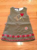 Souris Mini Wool Bird Dress