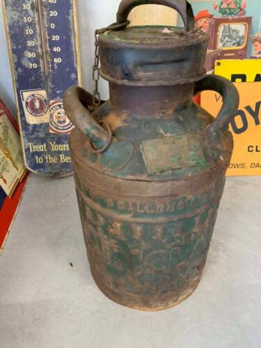 Vintage Sinclair 5 Gallon Gas Can 1920