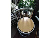 Bar stool chrome