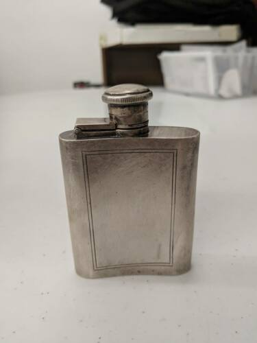 Tiffany and Co (.925) Sterling Silver Liquor Flask