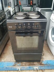 Black 'Teknix' Electric Cooker - Excellent Condition / Free Local Delivery