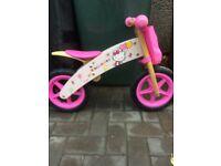 Hello Kitty Balance Bike