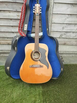 Eko V1 J54 Acoustic Guitar 1960's  With Original Hard case