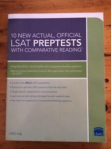10 New Actual, Official LSAT Preptests with Comparative Reading Beaumaris Bayside Area Preview