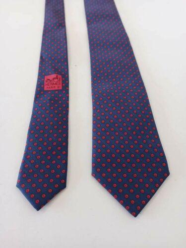Authentique cravate hermès monogramme , hermès tie 5910 sa monogram