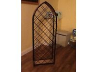Large stand alone wine rack