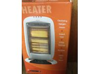 Halogen heater, barely used, perfect condition