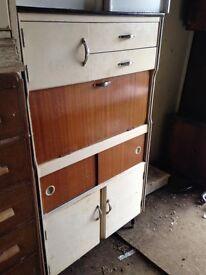 Vintage/Antique Retro freestanding kitchen cabinet
