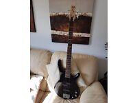 Bass Guitar, 4 string - Black