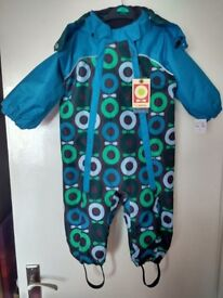 KATVIG-Fully-insulated-Padded-Snowsuit-Age-86cm-approx-18m-2yrs-BNWT