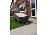 5x3 ft trailer reason for sale upgraded to bigger one