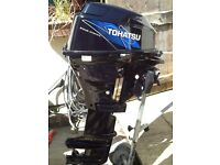 Tohatsu 15hp outboard engine 4 stroke. Suit Orkney fishing boat