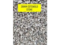 Cotswold stone Aggregates delivered loose or bagged