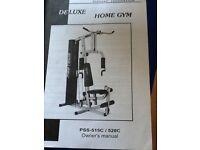 Proteus multi gym, hardly used, like new