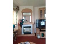 3 bedroomed holiday caravan.£185.