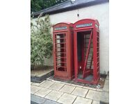 King & Queen phone box's PROJECT-REFURB
