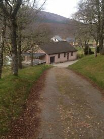 Scenic 3 Bedroom Home for rent in Tomich, by Beauly