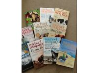 Michael Morpurgo books, set of 10, like new!