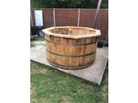 Wooden Heat Tub and Outdoor Saunas