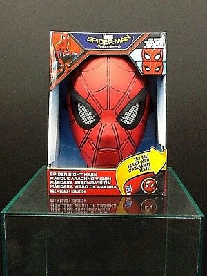Spiderman Homecoming Mask, Eyes Move, Ages 5+, Sight Mask (Halloween 2017 Masks)
