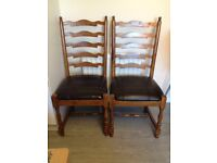 Willis and Gambier Chairs - EXCELLENT CONDITION
