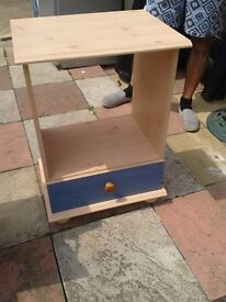 beech/blue unit good condition only £6.00