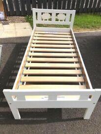 Ikea Kritter Bed Frame & Slats (VGC)