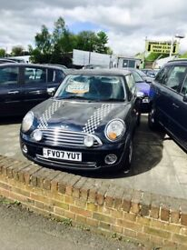 ✅ 2007 07 MINI Hatch One 1.4 3 door ✅