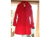 Women's Monsoon red winter coat