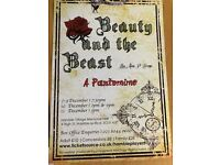 Beauty and the beast panto x4 tickets for sold out event!!