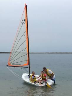 X3 Resort Family Sailing Dinghy + jib package