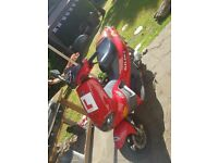 gilera runner 2003, 50cc sports moped scooter FULL MOT