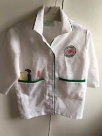 ELC Doctor's fancy dress age 3-5 years approx £2 collection from Shepshed. (can post)