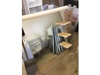 Large Mirror, Inc Shelves & lights