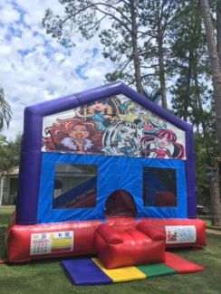 Monster High Jumping Castle $249 Full Day Hire