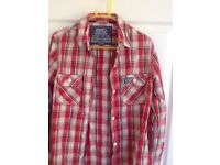 Men's Superdry shirt. Size medium