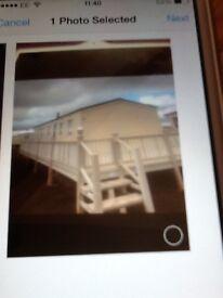 3 bedroom caravan to rent hire chapel st Leonards