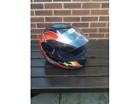 lady's motorcycle helmet