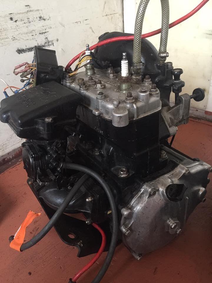 Kawasaki 650sx engine for stand up jetski in cardiff for Kawasaki outboard boat motors