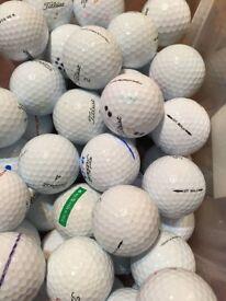 50 Titelist golf balls grade A