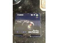 CANON PowerShot SX710 HS Superzoom Compact Camera - Black (Brand new)