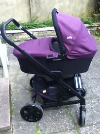 Joie Chrome 3in 1 Travel System