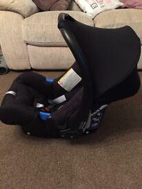 Britax Romer baby car seat & Isofix base